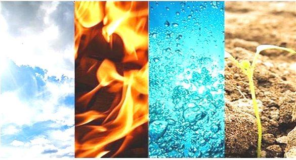 agua fuego tierra y viento letra