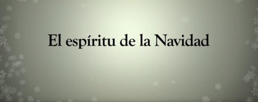 espíritu de la Navidad frases